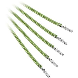BitFenix Alchemy 2.0 PSU Cable, 5x 60cm - hellgrün