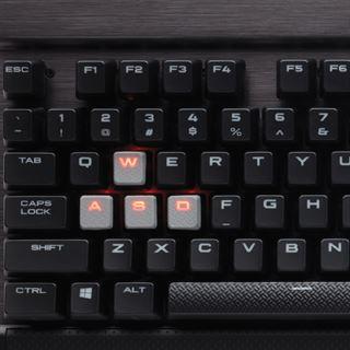 Corsair Gaming K70 RAPIDFIRE CHERRY MX Speed USB Deutsch schwarz