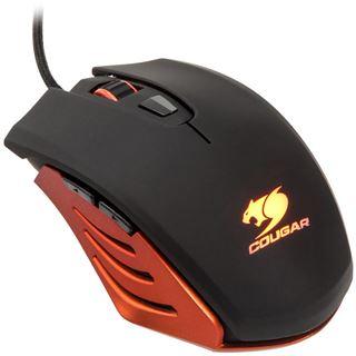 Cougar 200M-O Optical Gaming (CGR-WOSO-200) USB schwarz/orange