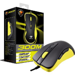 Cougar 300M Optical Gaming USB schwarz/gelb (kabelgebunden)