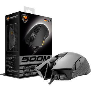 Cougar 500M Optical Gaming USB schwarz (kabelgebunden)