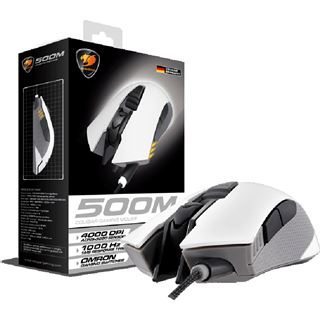 Cougar 500M Optical Gaming USB weiß/grau (kabelgebunden)