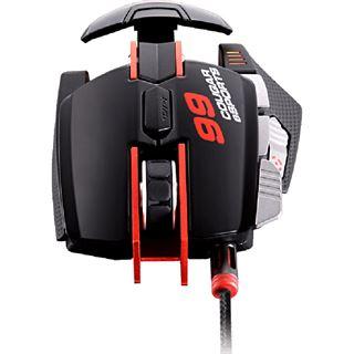 Cougar 700M Laser Gaming Maus eSports Edition USB schwarz/rot