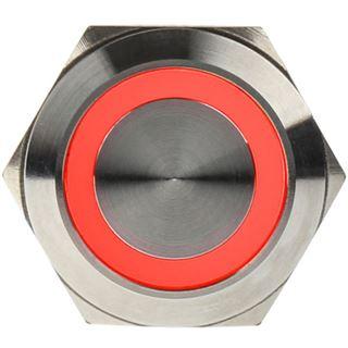 DimasTech Vandalismusschalter/-taster 22mm - Silverline - rot