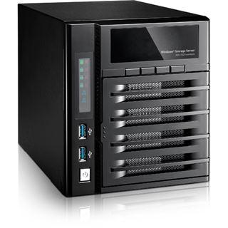 Thecus WindowsStorage W4000+ 4bay Desktop-NAS 4GB RAM