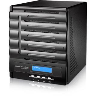 Thecus WindowsStorage W5000+ 5bay Desktop-NAS 4GB RAM
