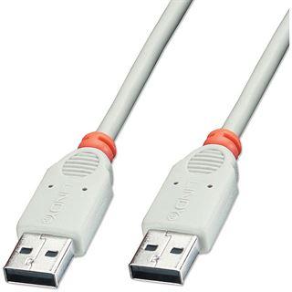 3.00m Lindy USB2.0 Verlängerungskabel USB 2.0 USB A Stecker auf
