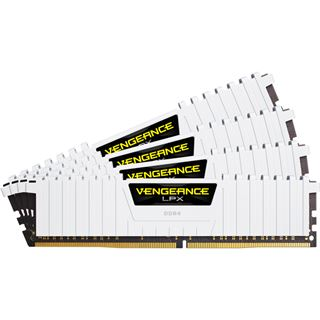 32GB Corsair Vengeance LPX weiß DDR4-3200 DIMM CL16 Quad Kit