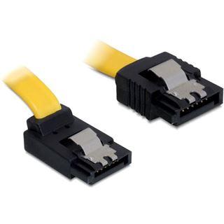 0.10m Delock SATA 6Gb/s Anschlusskabel SATA Stecker auf SATA Stecker