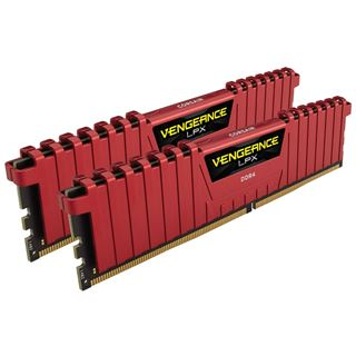 16GB Corsair Vengeance LPX rot DDR4-3733 DIMM CL17 Dual Kit