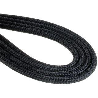 BitFenix 4-Pin ATX12V Verlängerung 45cm - sleeved schwarz/schwarz
