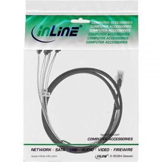 (€14,90*/1m) 1.00m InLine SAS 6Gb/s Adapterkabel SFF-8087