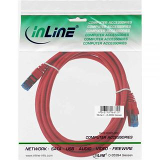 (€2,63*/1m) 3.00m InLine Cat. 6a Patchkabel S/FTP PiMF RJ45