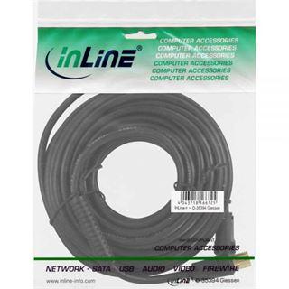 (€0,50*/1m) 20.00m InLine Antenne Anschlusskabel Premium-Line