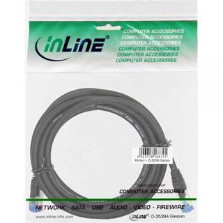 (€1,19*/1m) 10.00m InLine Cat. 6a Patchkabel S/FTP PiMF RJ45