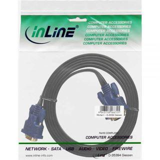 (€3,95*/1m) 2.00m InLine S-VGA Anschlusskabel VGA 15pol Stecker