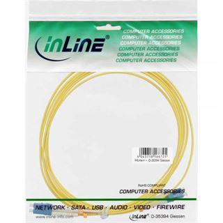 (€17,80*/1m) 0.50m InLine LWL Duplex Patchkabel 9/125 µm