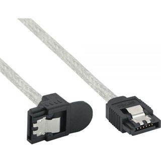 (€6,53*/1m) 0.75m InLine SATA 6Gb/s Anschlusskabel gewinkelt