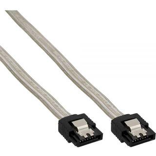 (€26,00*/1m) 0.15m InLine SATA Anschlusskabel SATA Stecker auf