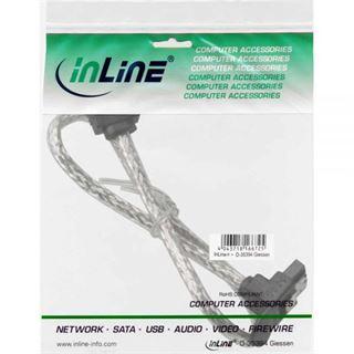 (€16,33*/1m) 0.30m InLine SATA 6Gb/s Anschlusskabel gewinkelt