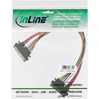 (€9,80*/1m) 0.50m InLine SATA 6Gb/s Verlängerungskabel SATA
