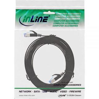 (€1,63*/1m) 3.00m InLine Cat. 6a Patchkabel flach U/FTP RJ45