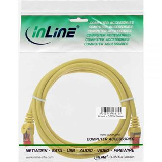 (€7,80*/1m) 0.50m InLine Cat. 6 Patchkabel S/FTP PiMF RJ45