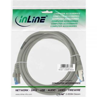 (€9,80*/1m) 0.50m InLine Cat. 6a Patchkabel S/FTP PiMF RJ45