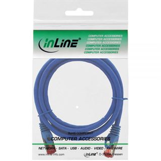 (€3,27*/1m) 1.50m InLine Cat. 6 Patchkabel S/FTP PiMF RJ45