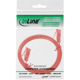 (€2,60*/1m) 1.50m InLine Cat. 6 Patchkabel flach U/UTP RJ45