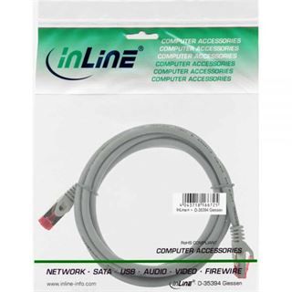 (€1,78*/1m) 5.00m InLine Cat. 6 Patchkabel S/FTP PiMF RJ45