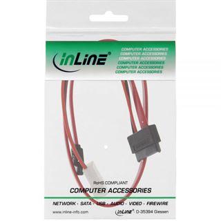 (€19,75*/1m) 0.40m InLine SATA Anschlusskabel Slimline SATA