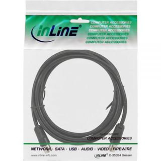 (€1,30*/1m) 3.00m InLine Antenne Anschlusskabel doppelt