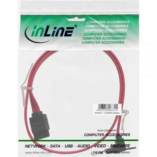 (€7,80*/1m) 0.50m InLine SATA 6Gb/s Anschlusskabel gewinkelt