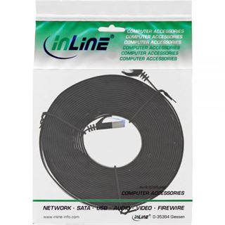 (€0,99*/1m) 7.00m InLine Cat. 6a Patchkabel flach U/FTP RJ45