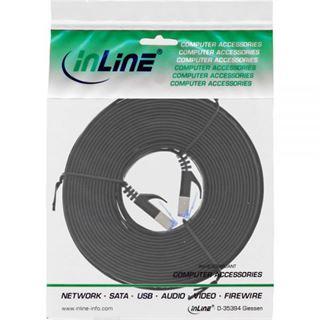 (€0,89*/1m) 10.00m InLine Cat. 6a Patchkabel flach U/FTP RJ45