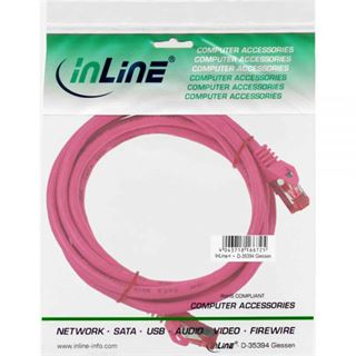 (€2,45*/1m) 2.00m InLine Cat. 6 Patchkabel S/FTP PiMF RJ45