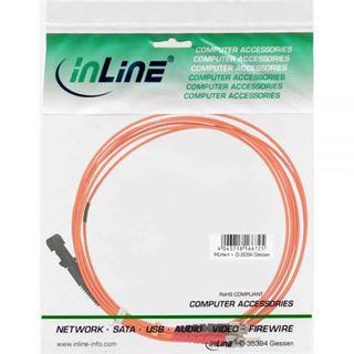 (€2,30*/1m) 3.00m InLine LWL Duplex Patchkabel 50/125 µm