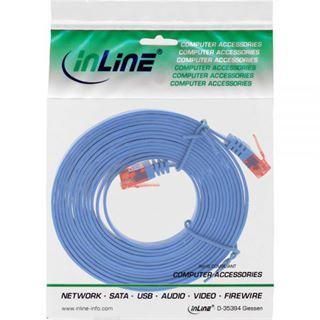 (€0,99*/1m) 7.00m InLine Cat. 6 Patchkabel flach U/UTP RJ45