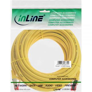 (€0,69*/1m) 10.00m InLine Cat. 6 Patchkabel S/FTP PiMF RJ45