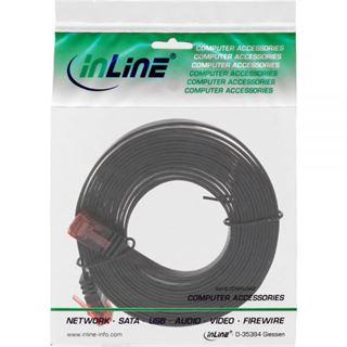 5.00m InLine Cat. 6 Patchkabel flach U/UTP RJ45 Stecker auf RJ45