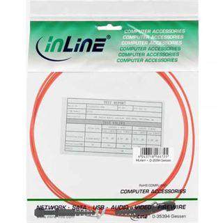 10.00m InLine LWL Duplex Patchkabel 50/125 µm OM2 MT-RJ Stecker