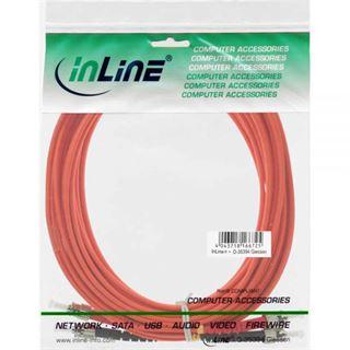 (€0,60*/1m) 30.00m InLine LWL Duplex Patchkabel 50/125 µm
