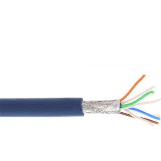 (€0,75*/1m) 100.00m InLine Cat. 6a Patchkabel S/FTP PiMF RJ45