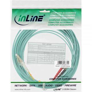(€7,90*/1m) 1.00m InLine LWL Duplex Patchkabel 50/125 µm