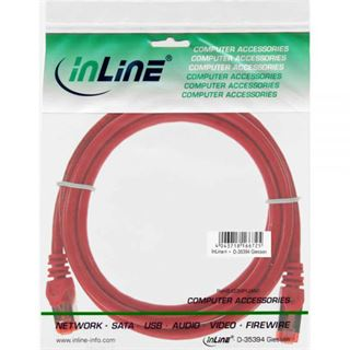 (€3,90*/1m) 1.00m InLine Cat. 6 Patchkabel S/FTP PiMF RJ45
