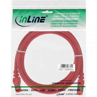 1.00m InLine Cat. 6 Patchkabel S/FTP PiMF RJ45 Stecker auf RJ45