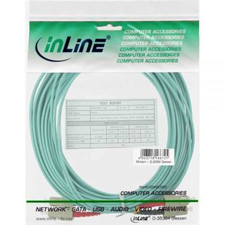 (€1,10*/1m) 20.00m InLine LWL Duplex Patchkabel 50/125 µm