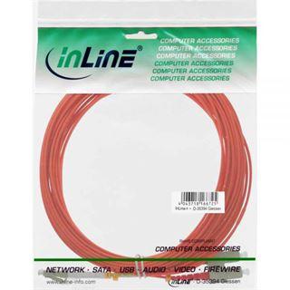 (€0,79*/1m) 15.00m InLine LWL Duplex Patchkabel 50/125 µm