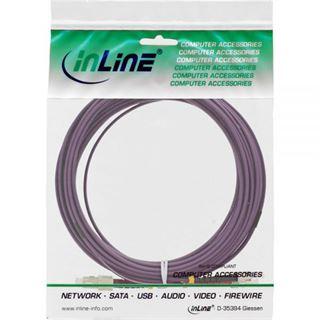 (€1,99*/1m) 10.00m InLine LWL Duplex Patchkabel 50/125 µm